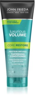 John Frieda Luxurious Volume Core Restore balzam za volumen tankih las