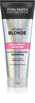 John Frieda Sheer Blonde Brilliantly Brighter Colour-Protecting Shampoo for Blonde Hair With Pearl Shine