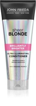 John Frieda Sheer Blonde Brilliantly Brighter balsamo ravviva colore per capelli biondi effetto perlato