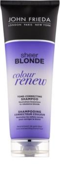 John Frieda Sheer Blonde Colour Renew șampon nuanțator pentru par blond