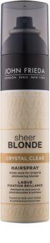 John Frieda Sheer Blonde Crystal Clear lac pentru parul blond cu suvite