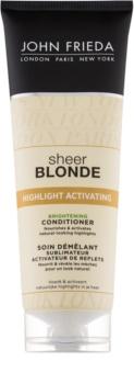 John Frieda Sheer Blonde Highlight Activating condicionador iluminador para cabelo loiro e grisalho