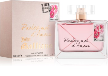 John Galliano Parlez-Moi d'Amour eau de parfum pentru femei 80 ml