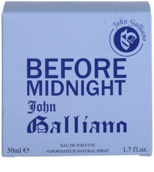 John Galliano Before Midnight Eau de Toilette voor Mannen 50 ml