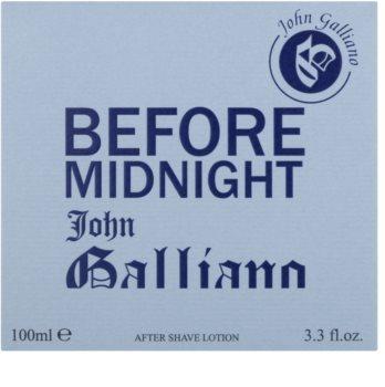 John Galliano Before Midnight after shave pentru barbati 100 ml