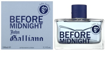 John Galliano Before Midnight νερό για μετά το ξύρισμα για άνδρες 100 μλ