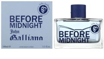 John Galliano Before Midnight voda za po britju za moške 100 ml