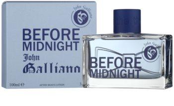 John Galliano Before Midnight voda po holení pro muže 100 ml