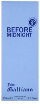 John Galliano Before Midnight gel douche pour homme 150 ml