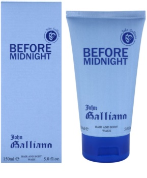 John Galliano Before Midnight Douchegel voor Mannen 150 ml