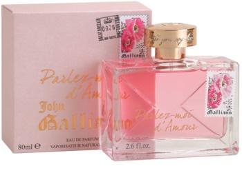 John Galliano Parlez-Moi d'Amour Eau de Parfum for Women 80 ml