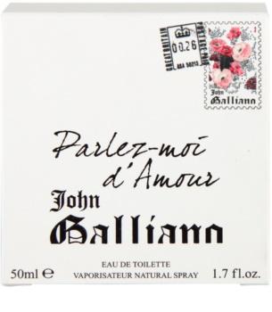 John Galliano Parlez-Moi d'Amour eau de toilette nőknek 50 ml
