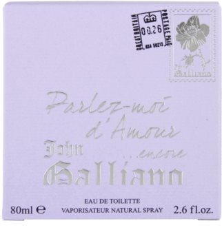 John Galliano Parlez-Moi d'Amour Encore toaletna voda za ženske 80 ml