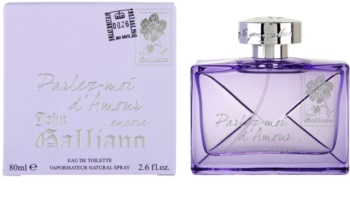 John Galliano Parlez-Moi d'Amour Encore toaletná voda pre ženy 80 ml