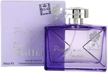 John Galliano Parlez-Moi d'Amour Encore Eau de Toilette for Women 80 ml