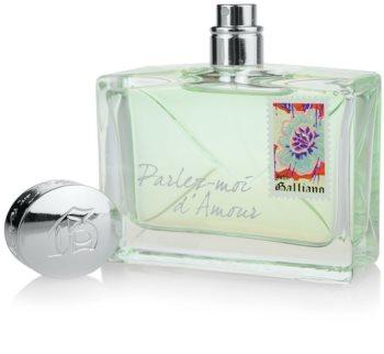 John Galliano Parlez-Moi d´Amour Eau Fraiche eau de toilette nőknek 80 ml