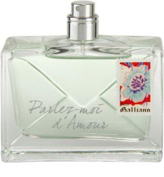 John Galliano Parlez-Moi d'Amour Eau Fraîche woda toaletowa tester dla kobiet 80 ml