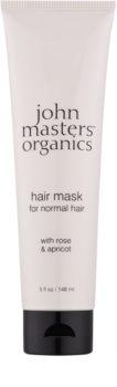 John Masters Organics Rose & Apricot maska na vlasy