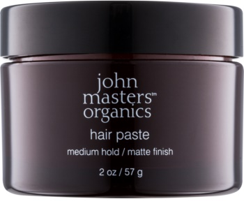 John Masters Organics Sculpting Clay Medium Hold Modellierende Haarpaste für mattes Aussehen