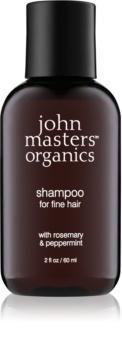 John Masters Organics Rosemary & Peppermint shampoo per capelli delicati