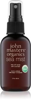 John Masters Organics Sea Mist spray de sal do mar com lavanda para cabelo