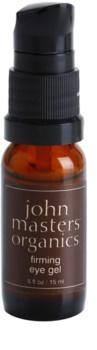 John Masters Organics All Skin Types zpevňující oční gel