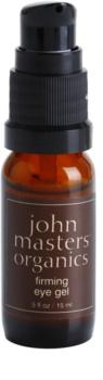 John Masters Organics All Skin Types gel raffermissant yeux