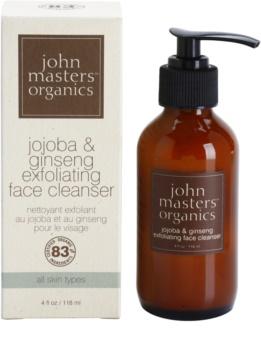 John Masters Organics All Skin Types čisticí pleťový peeling