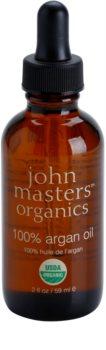 John Masters Organics 100% Argan Oil olejek regenerujący do twarzy, ciała i włosów