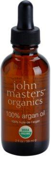 John Masters Organics 100% Argan Oil óleo regenerativo para rosto, corpo e cabelo