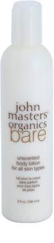 John Masters Organics Bare Unscented Body Lotion Fragrance-Free