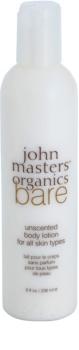 John Masters Organics Bare Unscented losjon za telo brez dišav