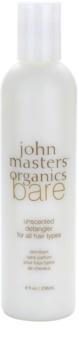 John Masters Organics Bare Unscented Balsam pentru toate tipurile de par fara parfum