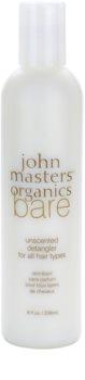 John Masters Organics Bare Unscented Detangler For All Hair Types Fragrance-Free
