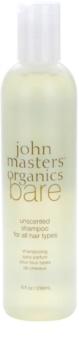 John Masters Organics Bare Unscented šampón pre všetky typy vlasov bez parfumácie