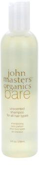 John Masters Organics Bare Unscented szampon do wszystkich rodzajów włosów nieperfumowane