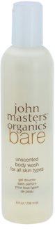 John Masters Organics Bare Unscented gel za prhanje brez dišav