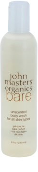 John Masters Organics Bare Unscented sprchový gel bez parfemace