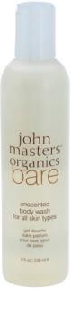 John Masters Organics Bare Unscented sprchový gél bez parfumácie