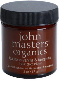 John Masters Organics Bourbon Vanilla & Tangerine stiling pasta za popoln videz las