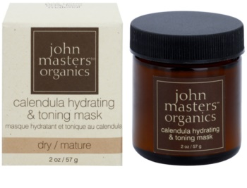 John Masters Organics Calendula hydratační a tonizační pleťová maska