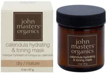 John Masters Organics Calendula hydratisierende und tonisierende Gesichtsmaske