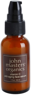 John Masters Organics Dry to Mature Skin omlazující pleťové sérum s vitaminem C
