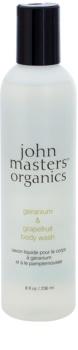John Masters Organics Geranium & Grapefruit gel de duche