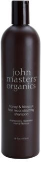John Masters Organics Honey & Hibiscus Restoring Shampoo For Hair Strengthening