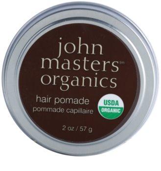 John Masters Organics Hair Pomade alifie pentru catifelarea si hranirea parului uscat si indisciplinat