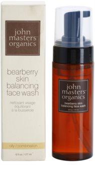 John Masters Organics Oily to Combination Skin Cleansing Foam Balancing Sebum Production
