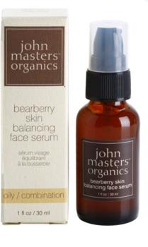 John Masters Organics Oily to Combination Skin sérum rééquilibrant la production de sébum