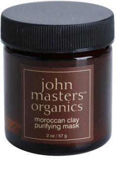 John Masters Organics Oily to Combination Skin reinigende Maske für das Gesicht