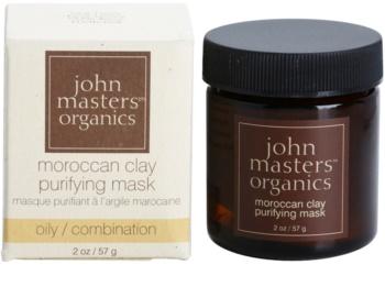 John Masters Organics Oily to Combination Skin čistiaca pleťová maska